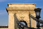 Zincir köprü budapeşte — Stok fotoğraf