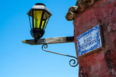 Calle de los Suspiros in Colonia — Stock Photo