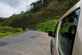 Car in Costa Rica Countryside — Stock Photo