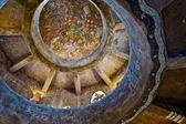 Pouštní pohled strážní věž interiér — Stock fotografie