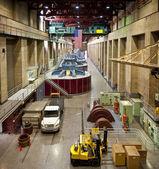 Interior of Hoover Dam — Stock Photo