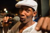 Street Performer in Miami — Stock Photo