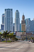 Miami Biscayne Ave. — Stock Photo