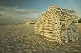 Gibi konuşabilir kurulur sandalyeler — Stok fotoğraf