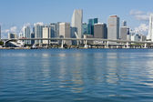 Downtown Miami Skyline — Stock Photo