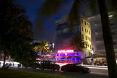 The Clevelander at Night in Ocean Drive — Stock Photo