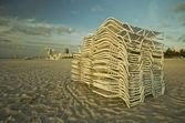 SoBe Chairs II — Stock Photo