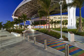 Main access to new Marlins Park — Stock Photo