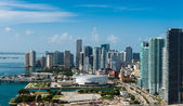 Aerial view of Downtown Miami — Stock Photo