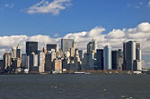 Ii sullo skyline di new york — Foto Stock