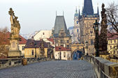 Charles Bridge Prague — Stock Photo
