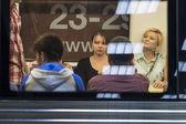In the Subway — Stock fotografie