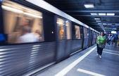 Subway Station in Bucharest — Foto de Stock
