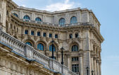 Palace of Parliament Detail in Bucharest — Stock Photo