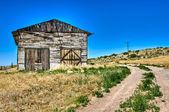Abandoned barn in Route 66 — Stock Photo