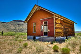Route 66 house — Stock Photo
