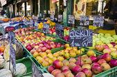 Pommes sur le marché de Vienne — Photo