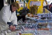 Street Market in Vienna — Stock Photo