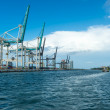 Miami Seaport Cargo Terminal — Stock Photo #27727325