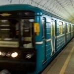 Sportivnaya Metro Station in Moscow — Stock Photo