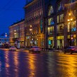 Nevsky Prospect at Night — Stock Photo #28597675