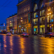 Stock Photo: Nevsky Prospect at Night