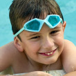Kid happy in summertime — Stock Photo