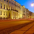St. Petersburg at night — Foto de Stock