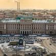 St. Isaac square on St. Petersburg — Stock Photo