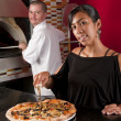 Happy restaurant workers — Stock Photo #29144259