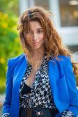 Beautiful elegant young woman — Stock Photo