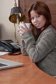 A minute to relax — Stock Photo