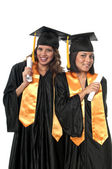 Graduation Friends — Stock Photo
