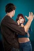 Domestic Violence concept — Stock Photo