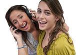 Amistad y música — Foto de Stock