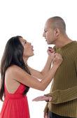 Couple arguing — Zdjęcie stockowe