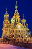 Church of the Savior on Blood in St. Petersburg — Stockfoto