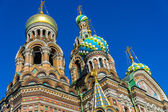 Dome of the Church of the Savior on Blood — Stock Photo