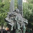 Bronze monument to the composer to Aram to Khachaturian — Stock Photo