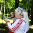 Stock Photo: Mardovsky national dress