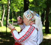 Mardovsky national dress — Stock Photo