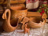 Tableware of ancient times — Stockfoto