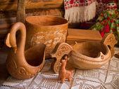 Stolní nádobí z dávných časů — Stock fotografie