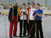 Curling — Foto Stock