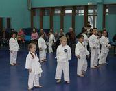 Lucha de karate — Foto de Stock