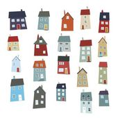 Little houses — Stock Photo