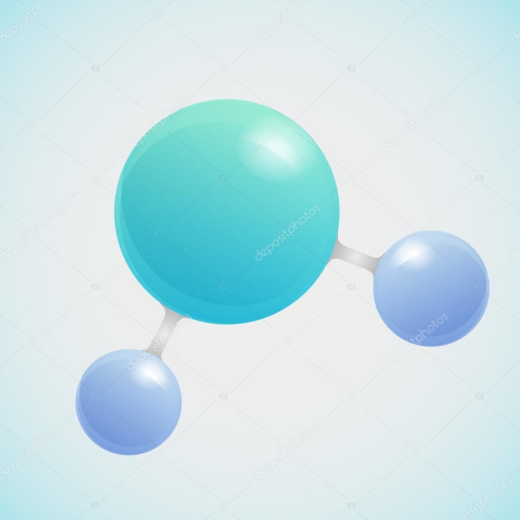分子3d结构示意图