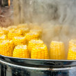 Boiled corn — Stock Photo