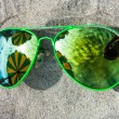 colored glasses — Stock Photo