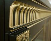 Inlay on furniture — Stock Photo